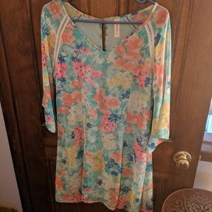 Pink Lily Boutique dress size Large